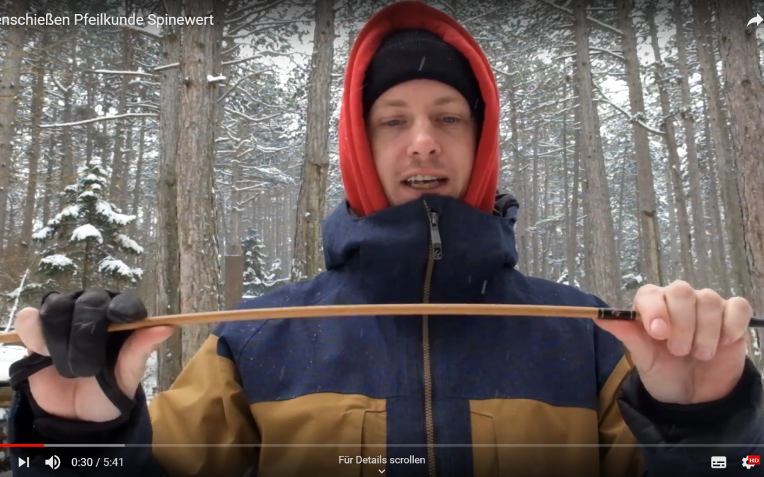 Spinewertrechner für Carbonpfeile und Holzpfeile
