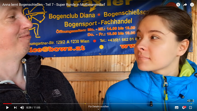Bogenschießen Muthmannsdorf, Niederösterreich, Nähe hohe Wand, Wr. Neustadt