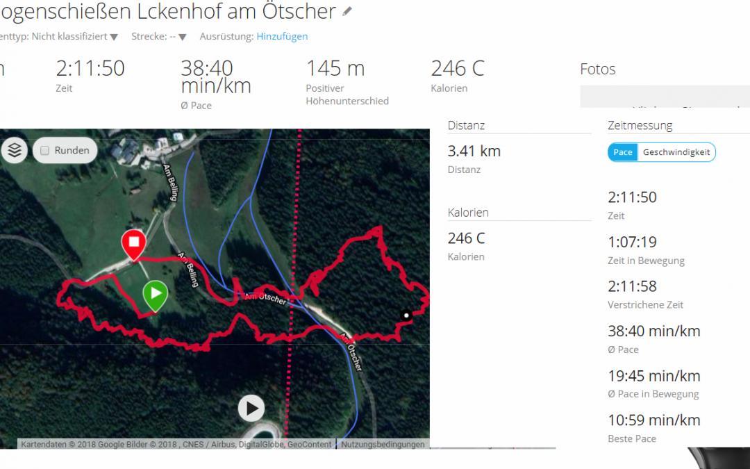 Bogenschießen in Lackenhof am Ötscher, Niederösterreich