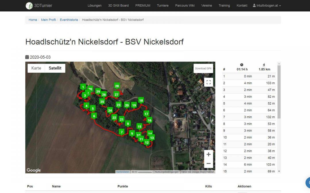 3D Bogenparcours Nickelsdorf – BSV Nickelsdorf