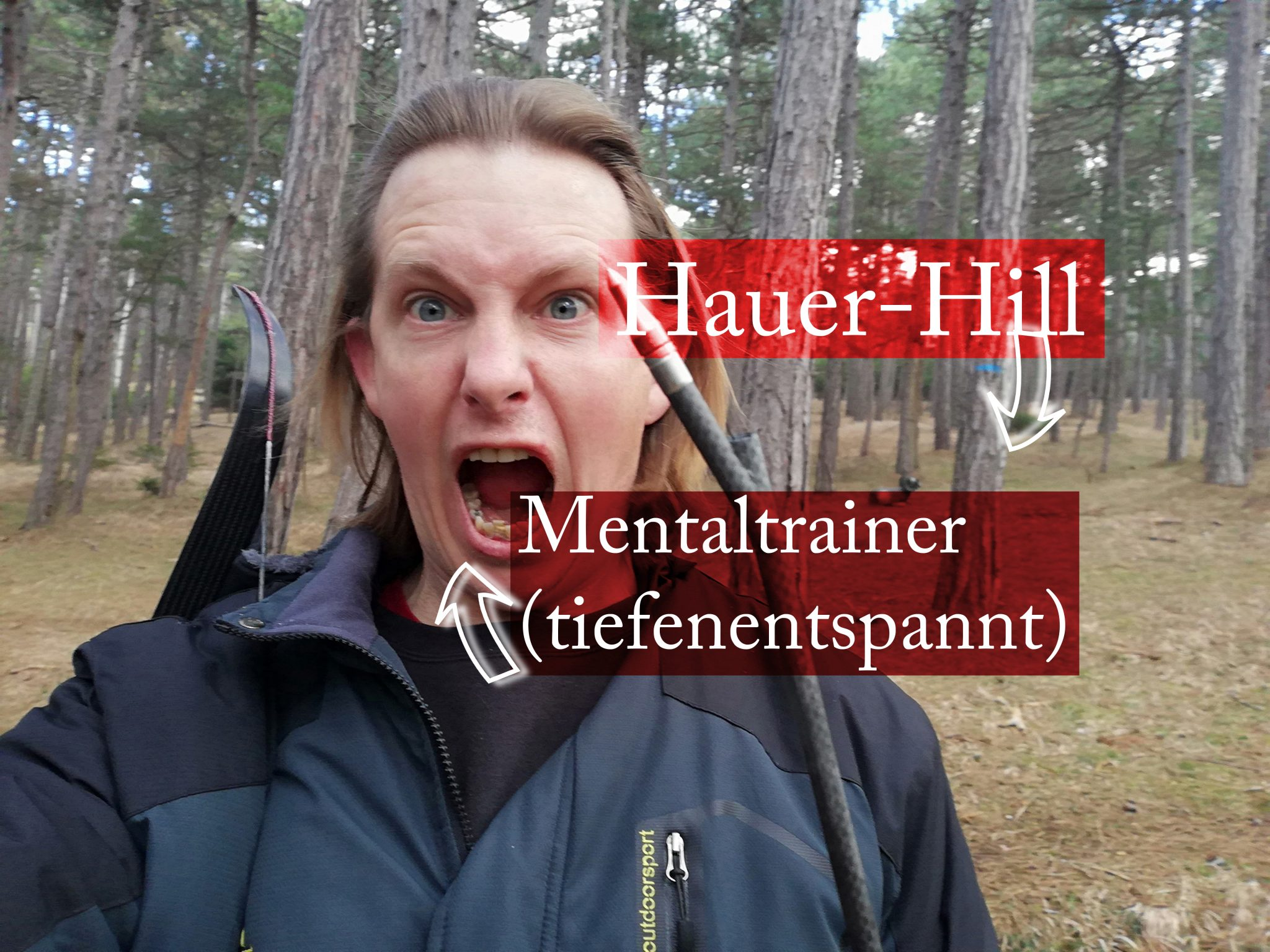 Mentaltrainer am Hauer HIll